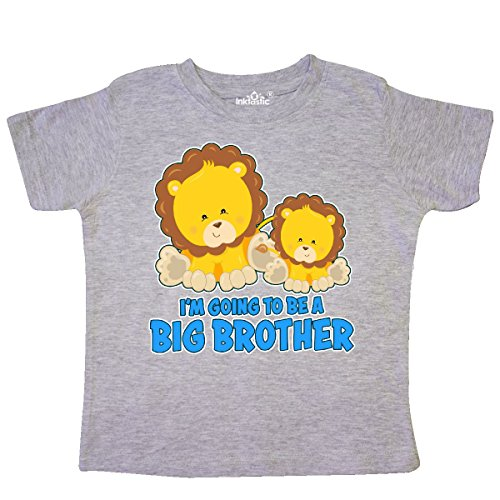 inktastic - I'm Going to Be a Big Brother Toddler T-Shirt 2T Heather Grey 31844