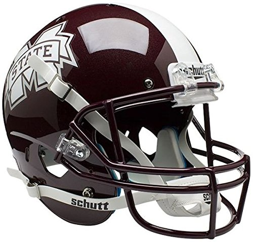 MISSISSIPPI STATE BULLDOGS Schutt AiR XP Full-Size REPLICA Football Helmet
