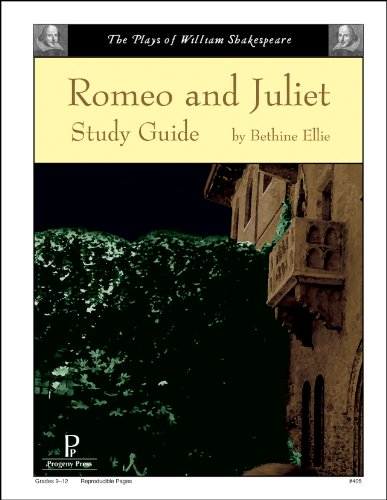 Romeo and Juliet Study Guide (Juliet Study Guide)