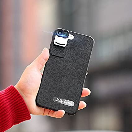Amazon com: Lens for iPhone 7 Plus 8 Plus, Jelly Comb 4 Lens