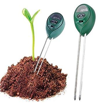 Analysatoren Boden Hygrometer 3 In 1 Ph Tester Boden Wasser Feuchtigkeit Licht Test Meter Für Garten Pflanze Blume Messung Und Analyse Instrumente