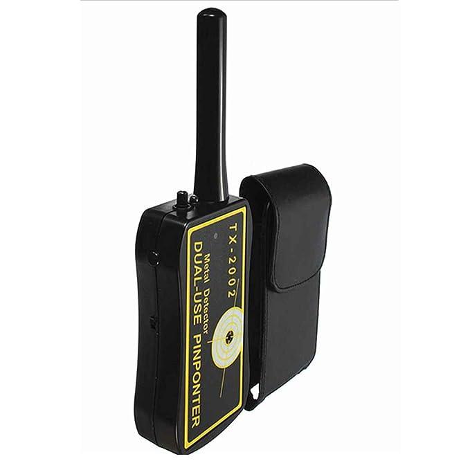 Lorsoul TX-2002 de Mano del Detector de Metales de Alta sensibilidad identificado de Doble Uso de Security Tester Pinpointer: Amazon.es: Hogar