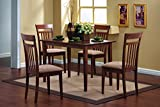 Coaster 5-Piece Dining Set in Chestnut finish
