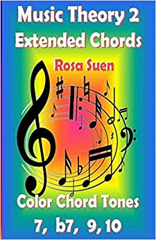 Music Theory 2 - Extended Chords - Color Chord Tones - 7, b7, 9, 10 (Learn Piano With Rosa)