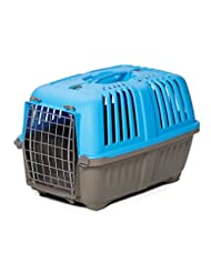 MidWest Homes for Pets Spree Travel Carrier, 19-Inch, Blue