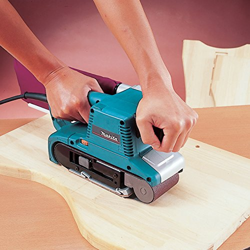 Belt sander for deck