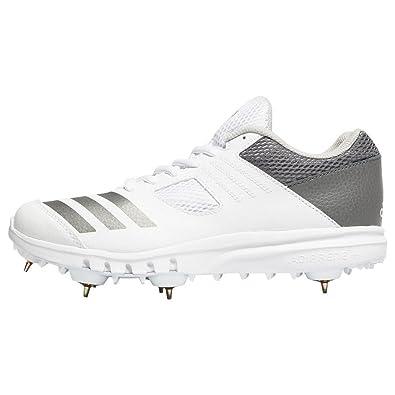 e66090b7974 adidas Howzat Full Spike Junior Cricket Shoes  Amazon.co.uk  Shoes ...