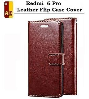 845dcf63d AE Mobile Accessories Redmi 6 Pro Flip Cover Case Leather