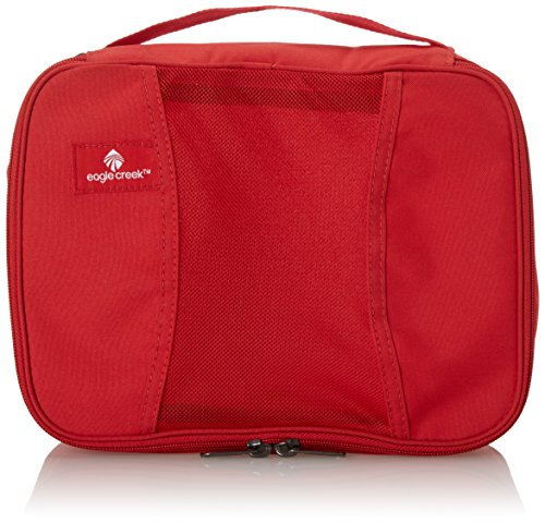 Eagle Creek Travel Gear Luggage Pack-it Half Cube, Red Fire
