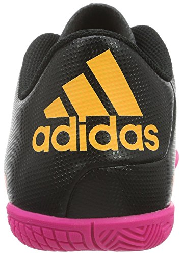 adidas X 15.4 In, Botas de Fútbol Unisex Niños Negro - Schwarz (Core Black/Shock Pink/Solar Gold)
