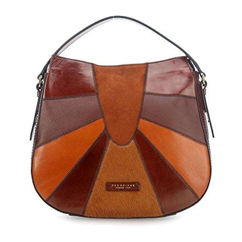 The Bridge Size Brown Women's Bag Braun Shoulder Braun Braun One p6pq4