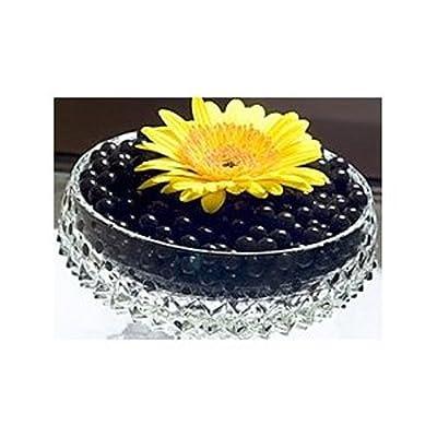 Vase Filler Gel Beads BLACK - 4oz Makes 3 Gallons - Water Storing Gel