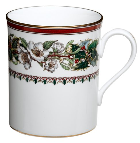 - Spode Christmas Rose 9-Ounce Mug