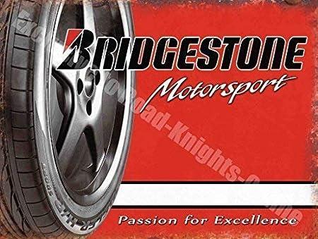 Bridgestone Motorsport Neumáticos Garaje Metal/Cartel Para ...