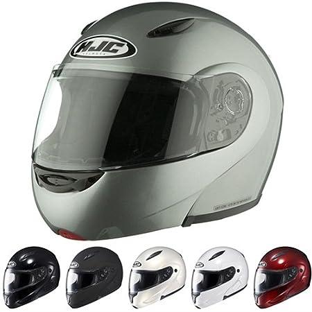 Casco policarbonato CL-MAX II plata Modular casco con lente transparente - 4 x -Large 0845 - 0207 - 10: Amazon.es: Coche y moto