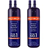 Model 1 Water Filter For Refrigerator Replacement Filter 1 Effective Clean Water For Kenmore 46-9930 9930 9081 46-9081 (2-PACK)