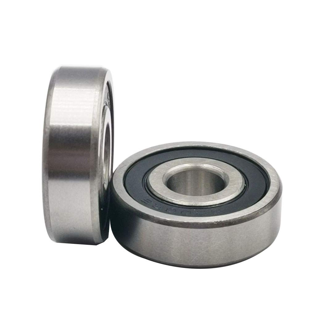 Rubber Sealed Ball Bearings Bearing 6200RS(10pcs) 10x30x9 mm 6200-2RS