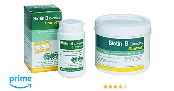 Stanvet 160222 Biotin B Complex - 100 Comprimidos: Amazon.es: Productos para mascotas