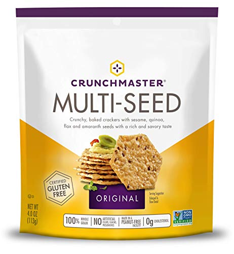 (Crunchmaster Multi-Seed Crackers, Original, 4)