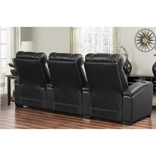 Larson 3 Piece Power Leather Theatre Set