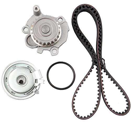Timing Belt Water Pump Kit, ECCPP for 1998-2005 Volkswagen Jetta Golf Beetle 2.0L L4 SOHC 8 Valve Eng. Code AEG AVH AZG BEV