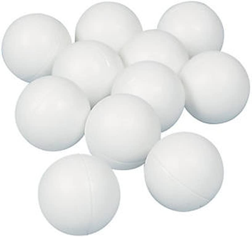 Komonee Color Liso Ping Pong Pelotas de Tenis de Mesa 40 mm Blanco (Paquete de 50)