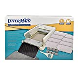 LitterMaid LM-86579 Automatic Multi-Cat Litter Box Self-Cleaning Scoop with Ramp, 24