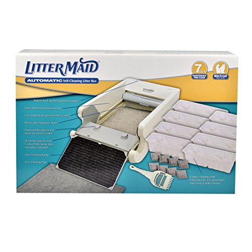 LitterMaid Multi-Cat Automatic Self-Cleaning Litter Box, 37""