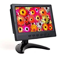 BacchaBox 7 Inch LCD HD Monitor with High Definition Multimedia Input / VGA / BNC / Composite Inputs (16:9)