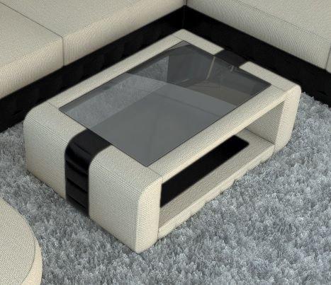 Sofa Dreams Diseñador Mesita Baja Bellagio con Cubiertos de Tela ...