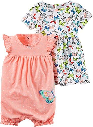 Carters Baby Girls 3 Piece Dresses