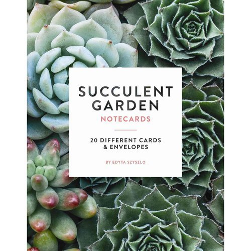 (Succulent Garden Notecards: 20 Different Cards and Envelopes)