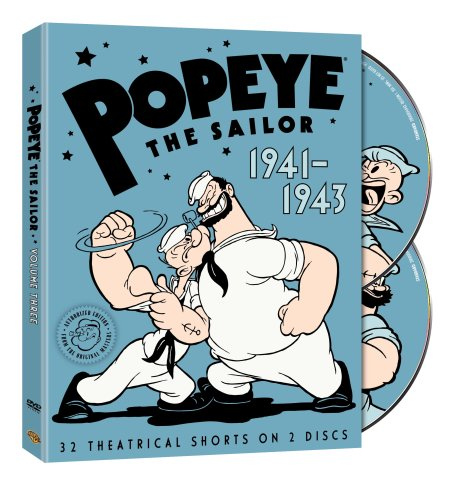 Popeye the Sailor: 1941-1943: The Complete Third Volume by Warner Manufacturing