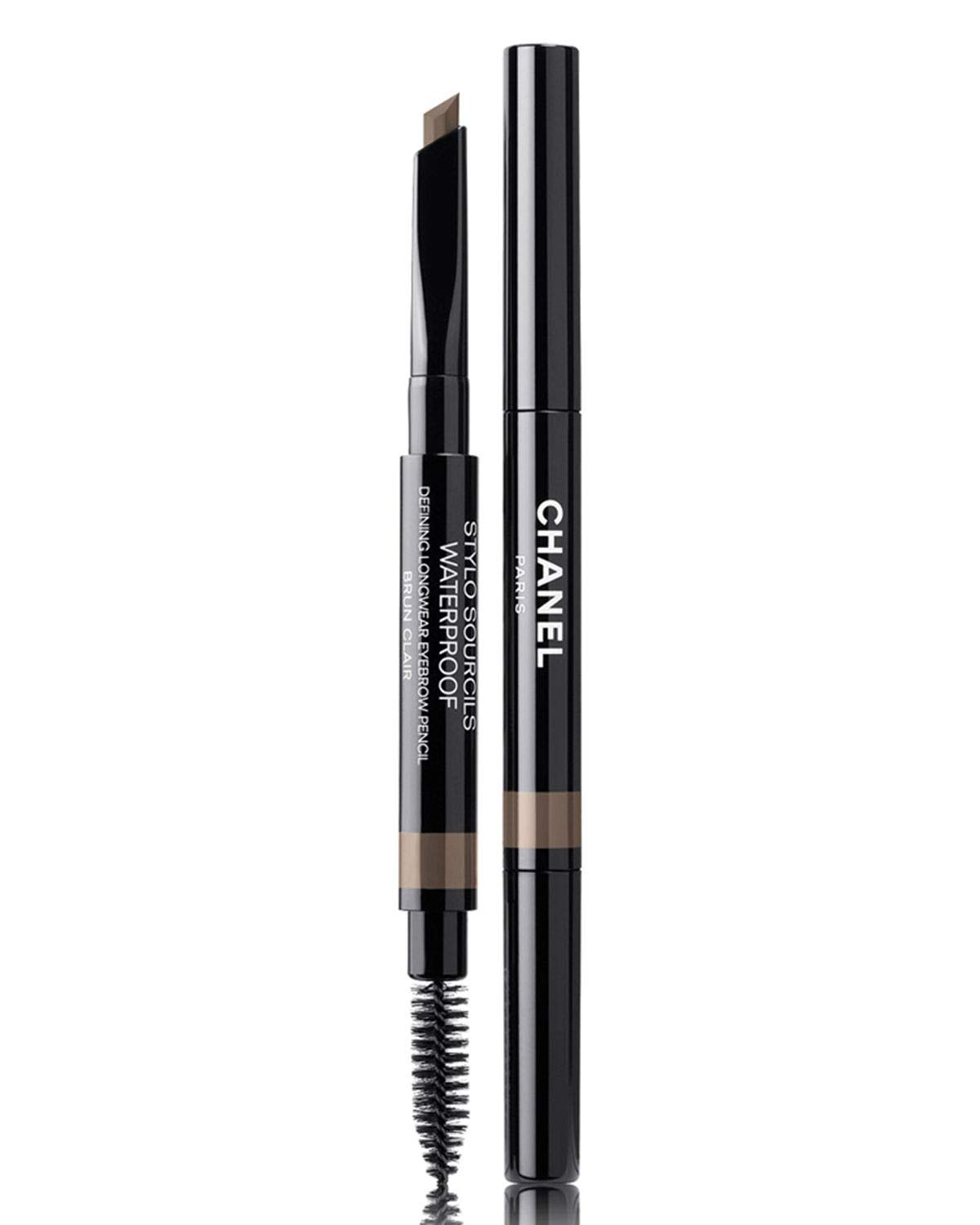NIB STYLO SOURCILS WATERPROOF DEFINING LONGWEAR EYEBROW PENCIL Color: 808 Brun Clair + Free Trial Size Designer Beauty Gift with Purchase by Designer CHANEL Beauty A177