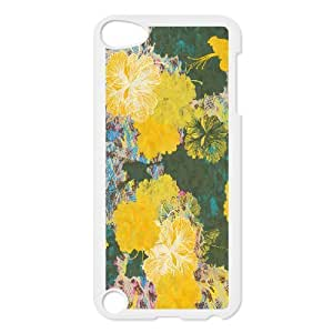Ipod Touch 5 Beautiful flowers Phone Back Case Custom Art Print Design Hard Shell Protection HG075355