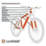 Luxshield-Bike-Vernice-Film-Protettivo-per-Mountain-Bike-BMX-Bici-da-Corsa-Bici-da-Trekking-ECC-Telaio-da-21-Pezzi-Contro-la-scheggiatura-Autoadesivo