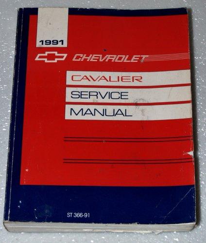 1991 Chevrolet Cavalier Service Manual