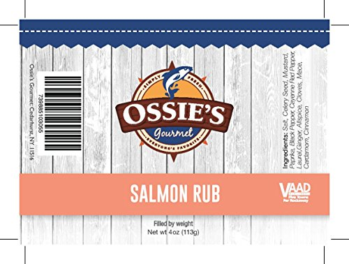 Ossie's Gourmet Seasoning (Ossie's Gourmet Salmon Rub (4 oz))