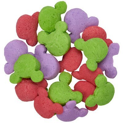 DecoPac Mickey Mouse Celebration Red, Purple, and Green Edible Sprinkles - 8 ounces]()