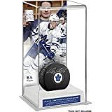 Auston Matthews Toronto Maple Leafs Four-Goal NHL Debut Deluxe Tall Hockey Puck Case - Fanatics Authentic Certified
