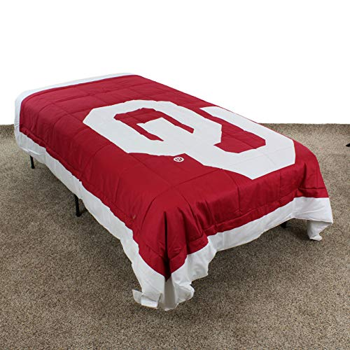 College Covers Oklahoma Sooners Comforter Only King Team Color