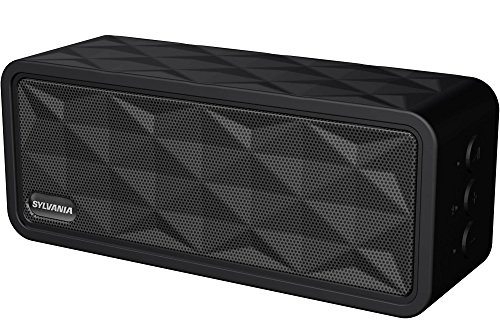 Sylvania Premium Portable Bluetooth Rugged Garage Speaker