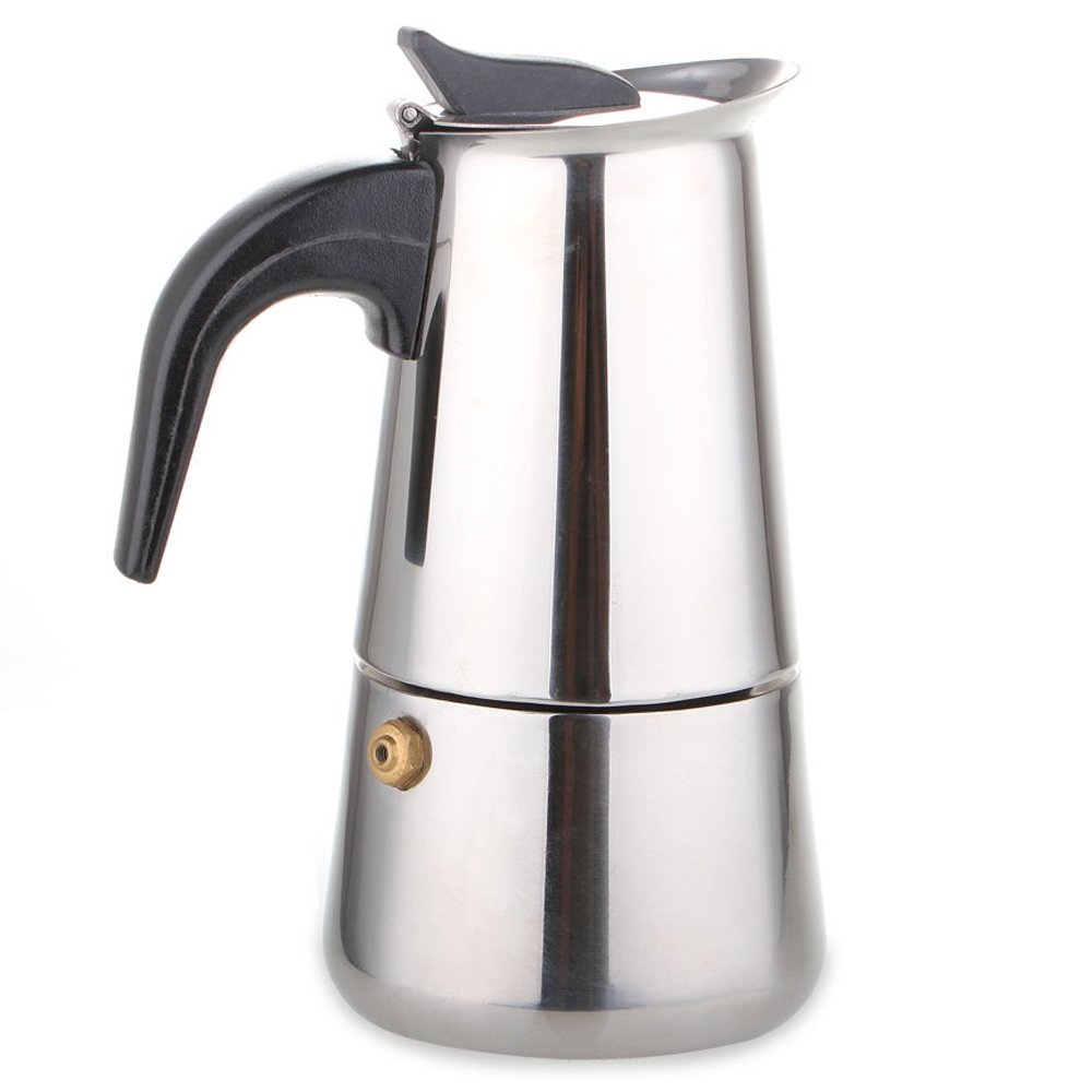Presso Coffee Maker Non Electric Coffee Maker : Stainless Steel Stovetop Espresso Moka Coffee Maker Latte Percolator 9 Cup eBay