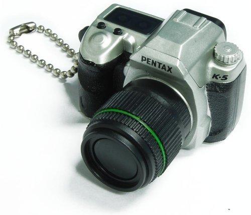 (Takara Tomy Pentax Capsule Mini Camera Keychain K-5 Limited Silver Camera)
