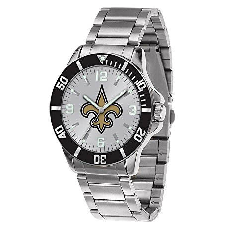 Q Gold Gifts Watches NFL New Orleans Saints Key Watch by Rico Industries -