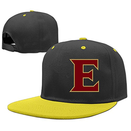 ^GinaR^ 140g Elon University - E Logo Funny Unisex Hip-hop Baseball Cap Sun Hat Sports CapsPure Cotton Child Baseball Cap - Yellow (Keurig 140 Coffee Maker compare prices)