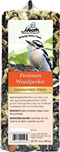Heath Outdoor Products SC-43 Premium Woodpecker Seed Cake Bar, 14-Ounce