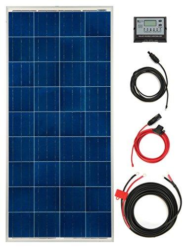 Roof Top Mounted 150 Watt Solar RV Kit
