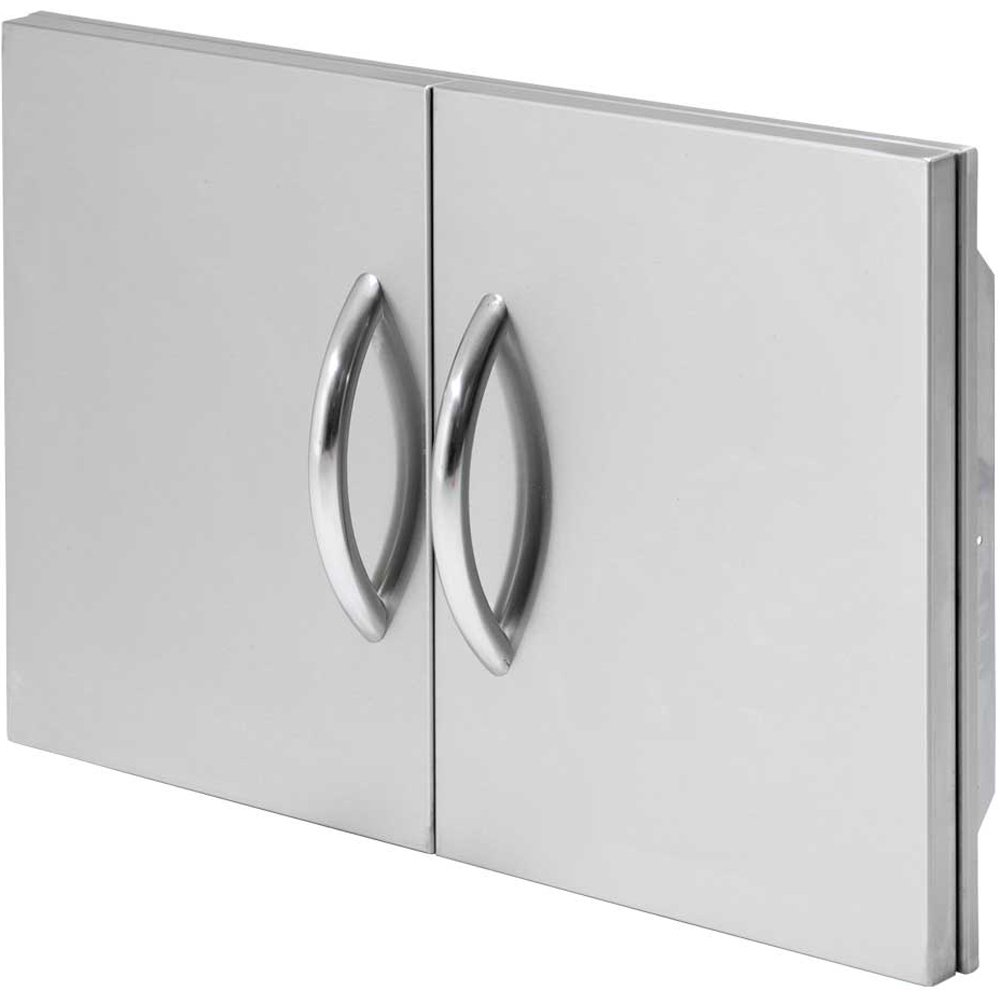 Cal Flame BBQ10839P-30 30'' Access Door Double Layered with Paper Towel Holder, Stainless Steel