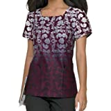Landau 4055 Women's Square Neck Top